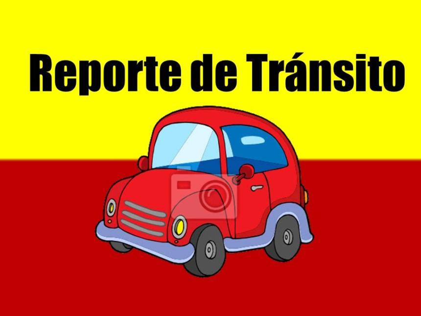 reporte de transito