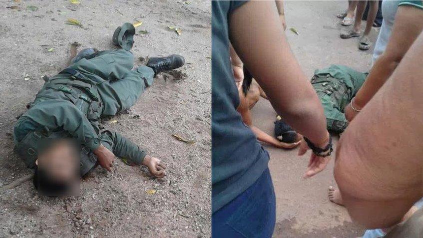 militar muerto